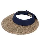 Sun N Sand Corolla Seagrass Cotton Visor