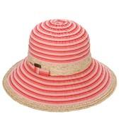 Sun N Sand Cameo Ribbon Bow Sun Hat