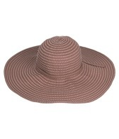 Sun N Sand Tuscany Ribbon W/ White Stitching Sun Hat