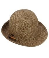 Sun N Sand Dorset Bamboo Trim Straw Fedora