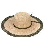 Sun N Sand Coralie Raffia Ribbon Trim Straw Hat