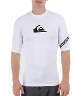 Quiksilver Men's All Time Short Sleeve Fitted Rashguard