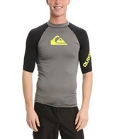 Quiksilver Men's All Time S/S Fitted Rashguard