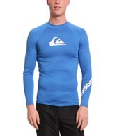 Quiksilver Men's All Time Long Sleeve Fitted Rashguard