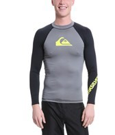 Quiksilver Men's All Time L/S Fitted Rashguard