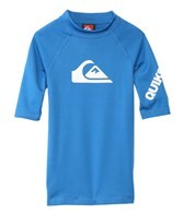 Quiksilver Boy's All Time Short Sleeve Fitted Rashguard