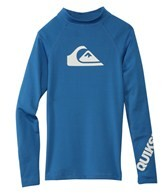 Quiksilver Boy's All Time Long Sleeve Fitted Rashguard