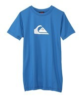 Quiksilver Boy's Solid Streak Short Sleeve Relaxed Fit Surf Shirt