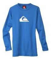 Quiksilver Boy's Solid Streak Long Sleeve Relaxed Fit Surf Shirt