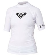 Roxy Whole Hearted Short Sleeve Fitted Rashguard