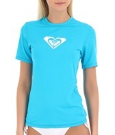 Women's Basically Roxy Short Sleeve Relaxed Fit Surf Shirt
