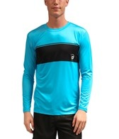Billabong Men's Adrift Long Sleeve Relaxed Fit Rashguard