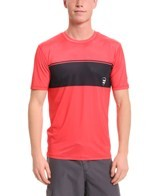 Billabong Men's Adrift Short Sleeve Relaxed Fit Rashguard