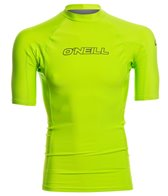 O'Neill Men's Basic Skins Short Sleeve Crew Rashguard