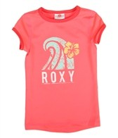 Roxy Girls' Sea Side Summer Breeze TW S/S Rashguard (4T-6)
