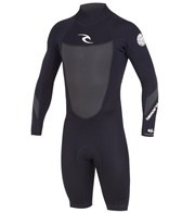 Rip Curl Men's 2MM Dawn Patrol Back Zip L/S Spring Suit