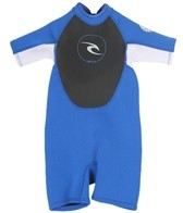 Rip Curl Toddler Dawn Patrol 2MM Short Sleeve Spring Suit Wetsuit