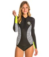 Rip Curl Women's G-Bomb Front Zip 1MM Long Sleeve Wetsuit Jacket