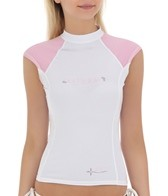 Body Glove Women's Aura Cap Sleeve Rashguard