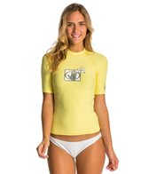 Body Glove Women's Basic Short Sleeve Fitted Rashguard