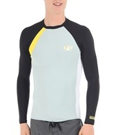 Body Glove Men's Performance Long Sleeve Fitted Rashguard