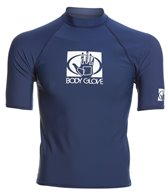 Body Glove Men's Basic Short Sleeve Fitted Rashguard