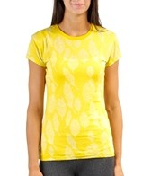 Oiselle Women's Feather Burnout Tee