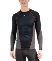 Mizuno Men's Breath Thermo Stretch Running Crew