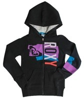 Roxy Girls' Share Bear L/S Zip Hoodie (7-16)