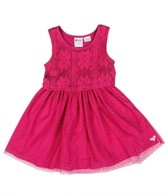 Roxy Girls' Check Me Out Dress (4-7)