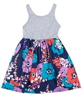 Roxy Girls' Pink Horizon Dress (4-7)