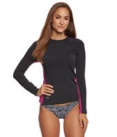 EQ Swimwear Poly L/S Rash Guard