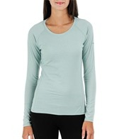 Columbia Women's Layer First Stripe Long Sleeve Running Top