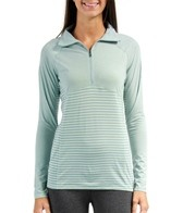 Columbia Women's Layer First II Stripe Running 1/2 Zip