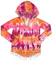 Billabong Billie Girls Down The Road L/S Pullover Hoodie (4-16)