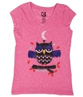 Billabong Billie Girls Owl Love You Cap Sleeve Tee (4-16)
