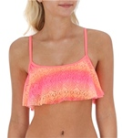 Roxy Dawn Cropped Tankini Top