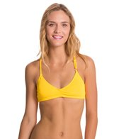 Lo Swim Women's Training Bikini Swimsuit Bikini Top w/ Free Hair Tie