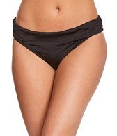 Kenneth Cole Reaction Solid Ruffle Sash Hipster Bottom