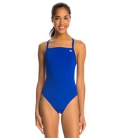 Adidas Women's Infinitex + Solids Vortex Back One Piece Swimsuit