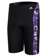 Adidas Men's Brushed Blocks Jammer Swimsuit