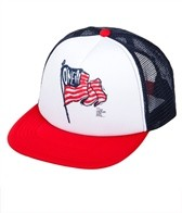 O'Neill Boys' Quadruple Flag Trucker Hat (Kids)