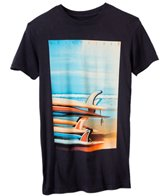 Quiksilver Men's Surf Stack Short Sleeve Tee