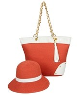 Physician Endorsed Gatsby II Straw Bag & Hat Set