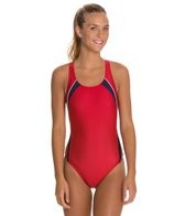 Speedo Taper Splice Pulse Back Swimsuit