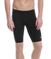 Speedo Rainbow Stripe Jammer Swimsuit