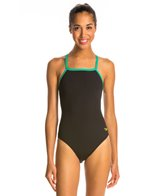 Speedo Reversible Drill Back Swimsuit