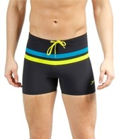 Speedo Horizontal Stripe 4 Way Square Leg