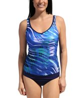 Speedo Moving Current Comfort Strap Tankini Top