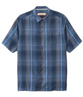 Tommy Bahama Saffron Plaid S/S Button Up Shirt